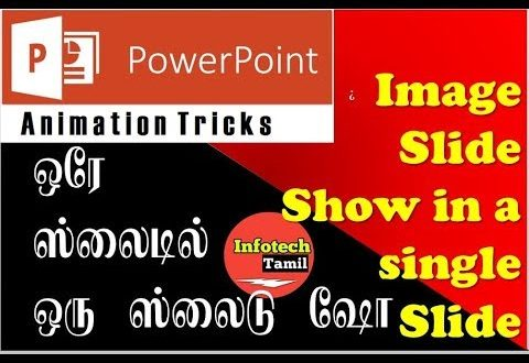 powerpoint animation trick slide