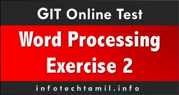 GIT online Word