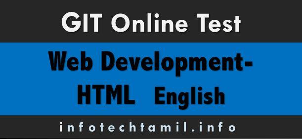 html - GIT Online Test - HTML