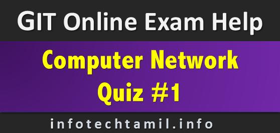 network1 - Quiz on Computer Network #1