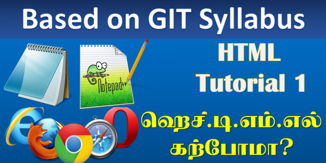 html lesson 660x330 - HTML Tutorial 1