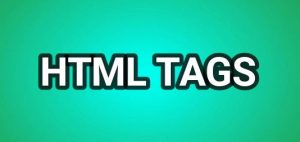html tags 1