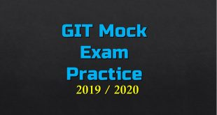 GIT Mock Exam