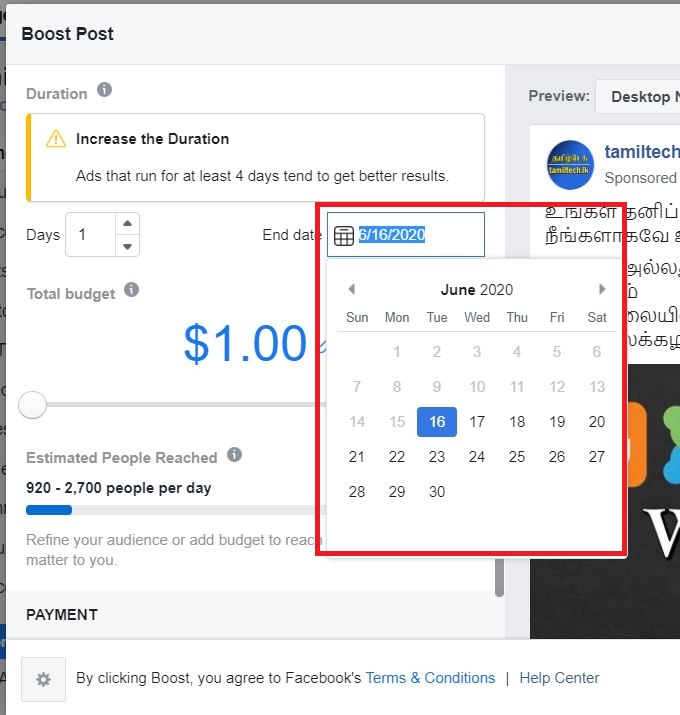 "12 - How to ""Boost Post"" on Facebook?"