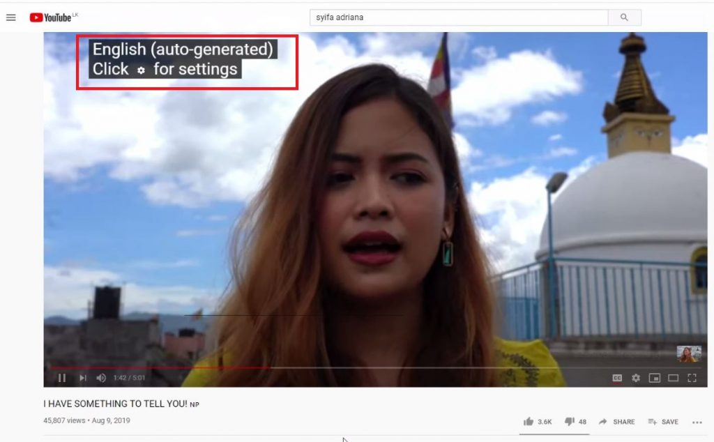 2 1 1024x634 - How to translate Youtube Video subtitles to Tamil