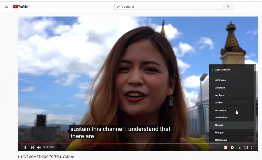 7 1 1024x628 - How to translate Youtube Video subtitles to Tamil
