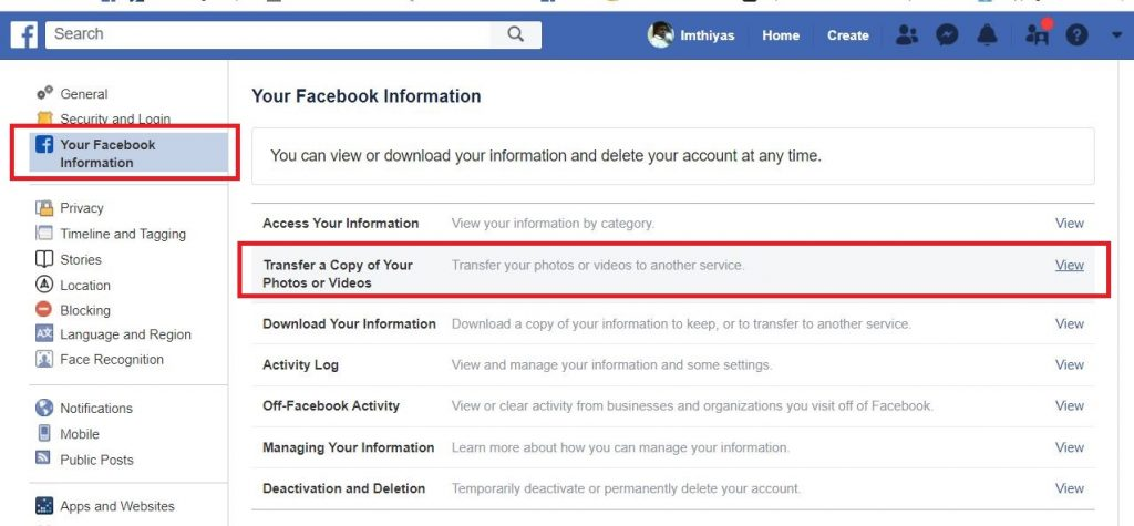 FB3 1024x475 - Transfer your Facebook photos and video to Google Photos