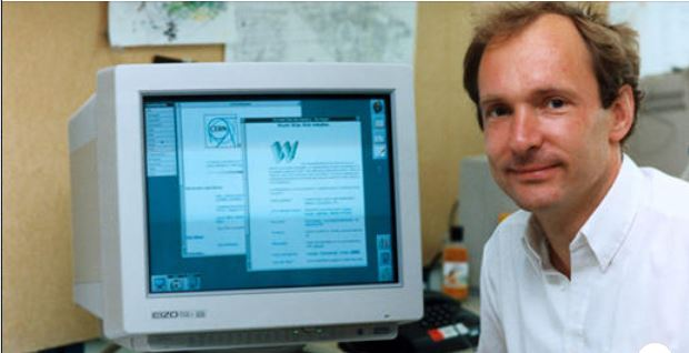 tim - This is how the first web page of the internet looked like
