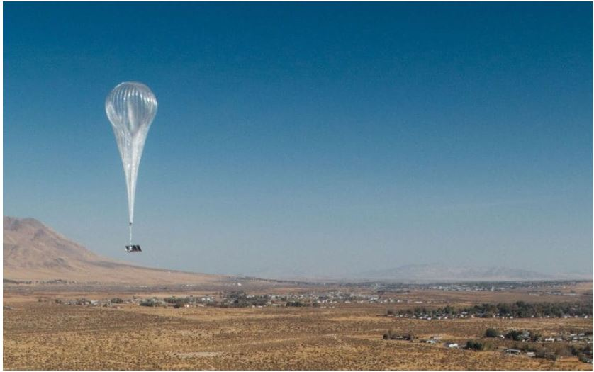 Google loon launched in Kenya