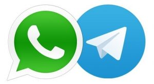 Telegram vs WhatsApp 1