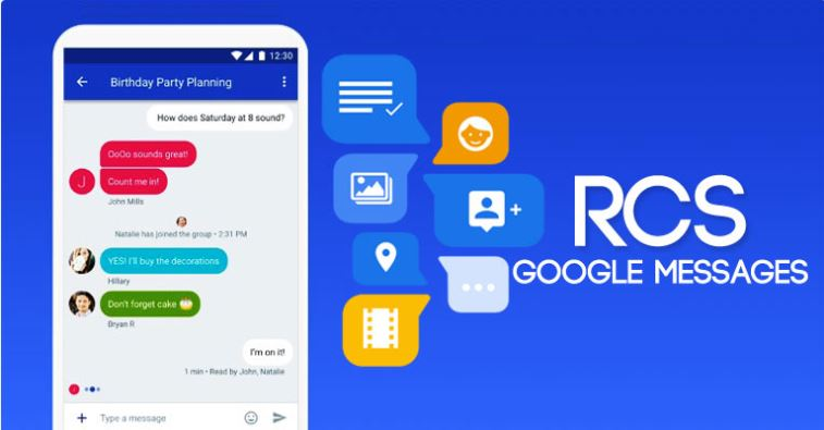 Google Messages Are Now RCS Enabled