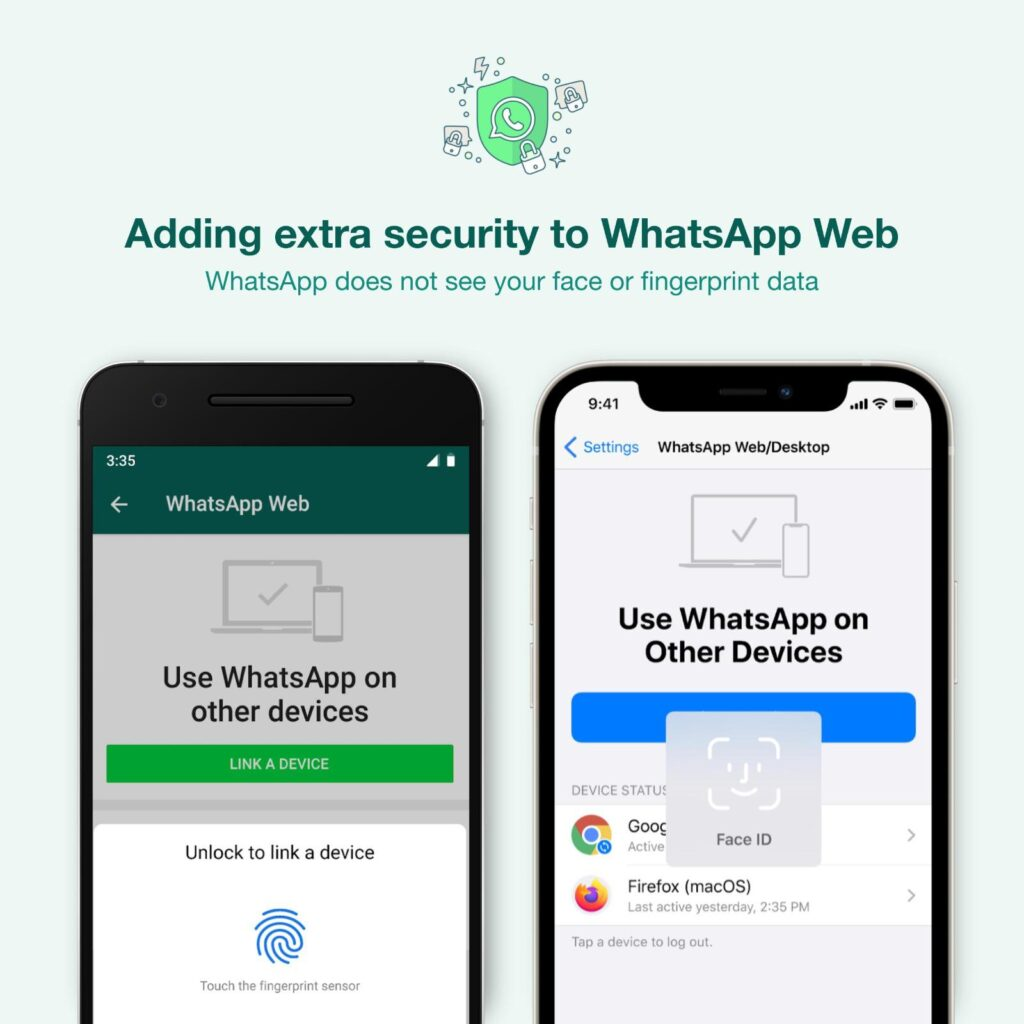WhatsApp rolls out new security feature for Web