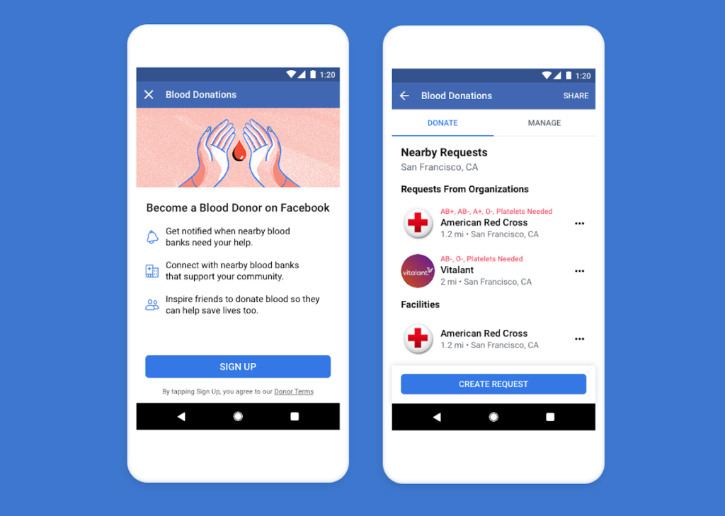 Facebook introduces blood donation feature in Sri Lanka